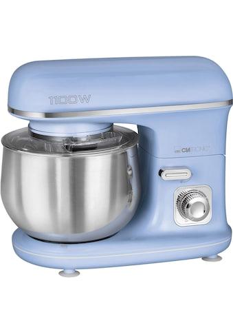 CLATRONIC Küchenmaschine KM 3711 blau, 1100 Watt, Schüssel 5 Liter kaufen