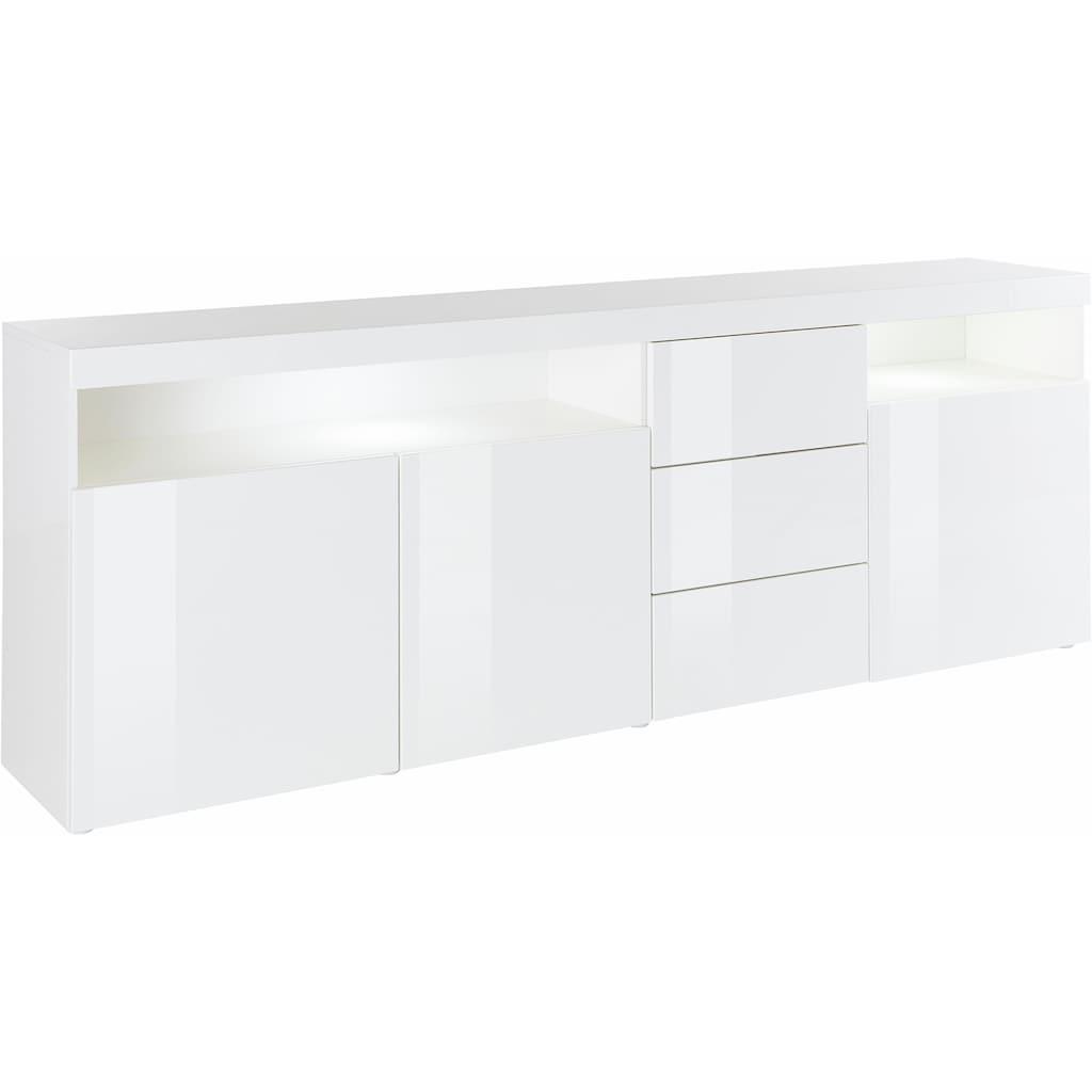 borchardt Möbel Sideboard »Kapstadt«, Breite 200 cm mit 3 Schubkästen