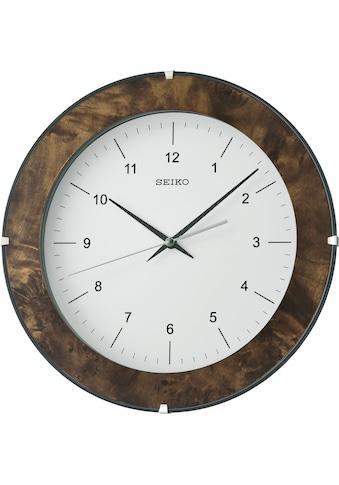Seiko Wanduhr »Wanduhr Holz, QXA738A« kaufen