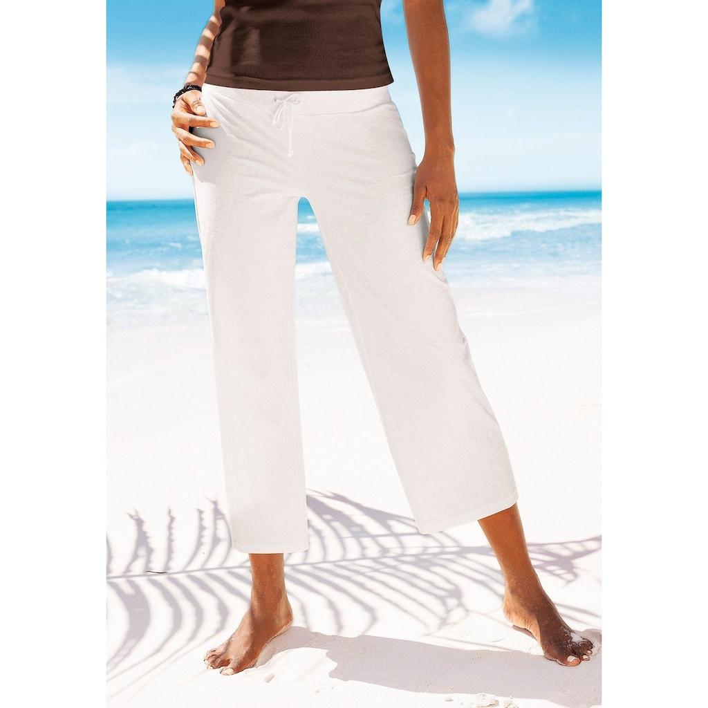 Beachtime 7/8-Strandhose, aus weichem Jersey