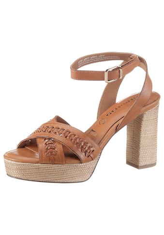 Tamaris High-Heel-Sandalette »BEET«, mit eleganter Kreuzbandage kaufen