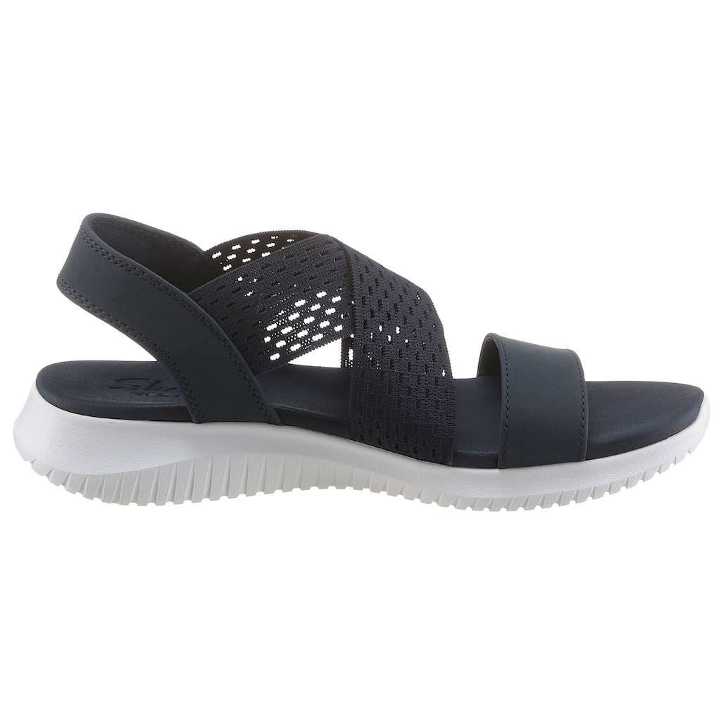 Skechers Sandale »Ultra Flex - Neon Star«, mit Yoga Foam