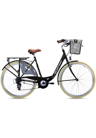bergsteiger Cityrad »Paris«, 6 Gang Shimano Tourney RD - TZ50 Schaltwerk kaufen