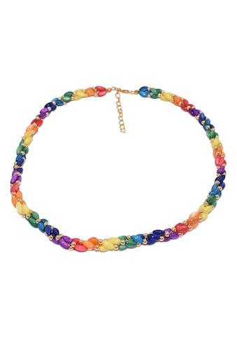 Firetti Perlenkette »Perlen«, Made in Germany - mit Perlmutt in Regenbogenfarben kaufen