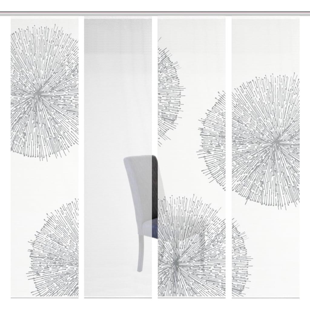 Vision S Schiebegardine »4ER SET CRESTON«, HxB: 260x60, Schiebevorhang 4er Set Digitaldruck
