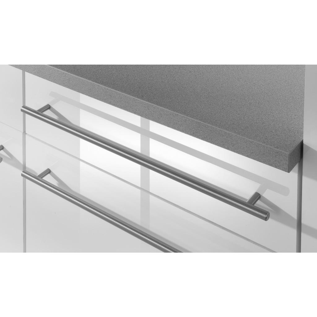 wiho Küchen Küchenzeile »Chicago«, mit E-Geräten, Gesamtbreite 280 cm