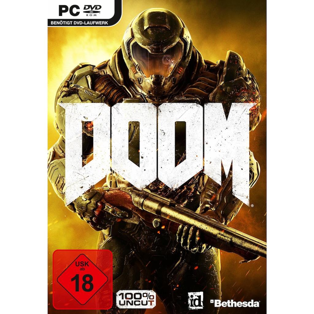 Bethesda Spiel »Doom«, PC, Software Pyramide