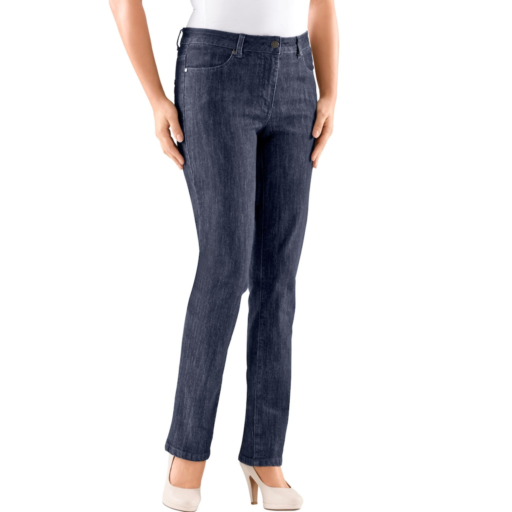 Casual Looks Gerade Jeans