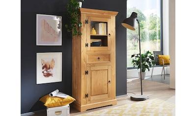 Premium collection by Home affaire Vitrine »Brasilia«, aus Massivholz kaufen