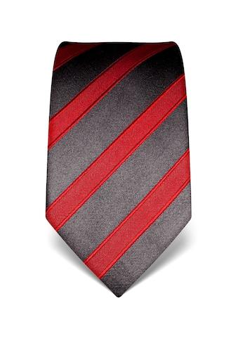 Vincenzo Boretti Krawatte mit breiten Streifen kaufen