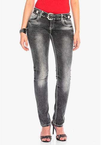 Cipo & Baxx Slim-fit-Jeans, im modernen Slim-Fit-Schnitt kaufen