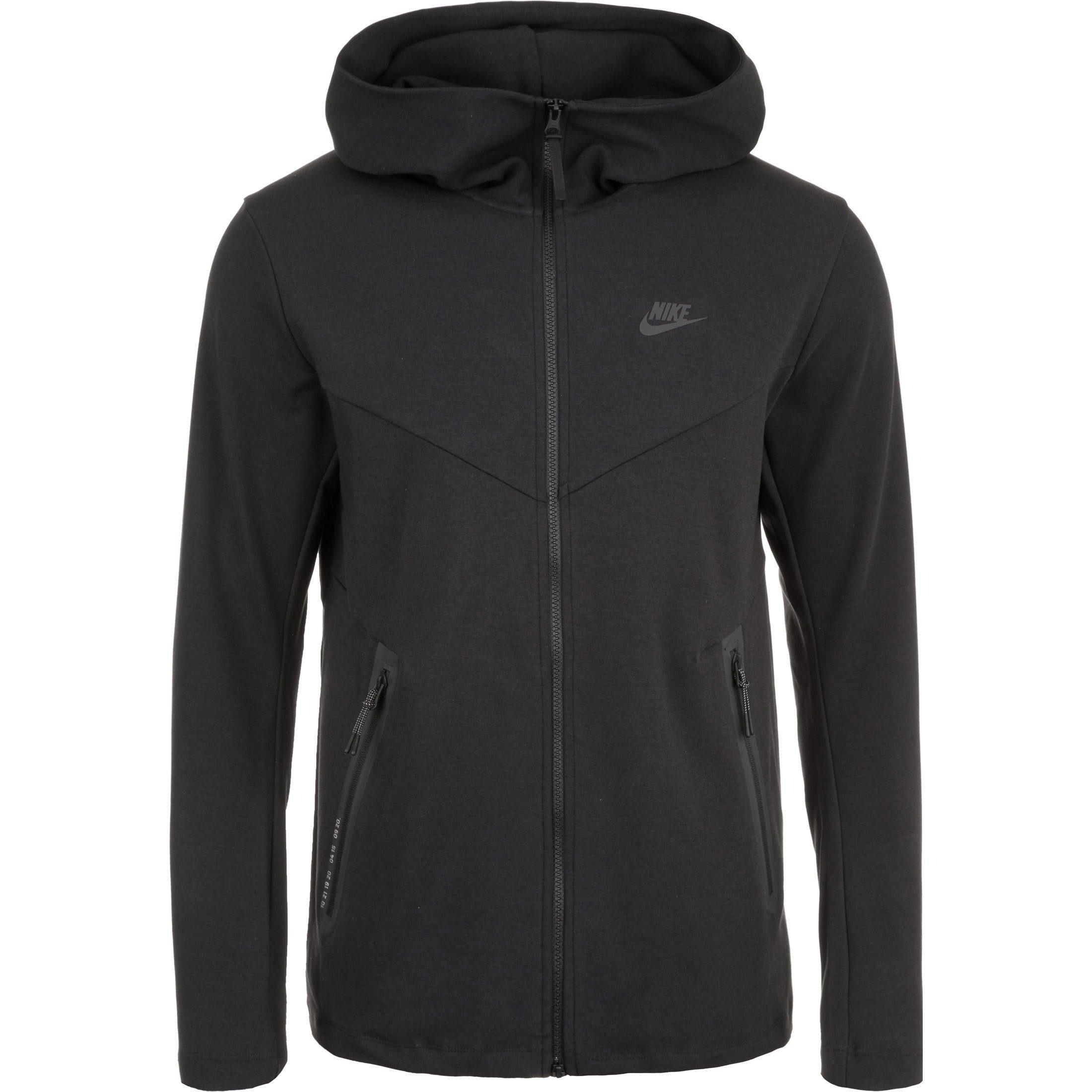 Nike Sportswear Kapuzensweatjacke Tech Pack | Sportbekleidung > Sportjacken > Sonstige Sportjacken | Schwarz | Nike Sportswear