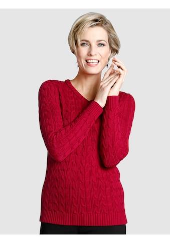 Dress In Pullover mit Zopfstrickmuster kaufen