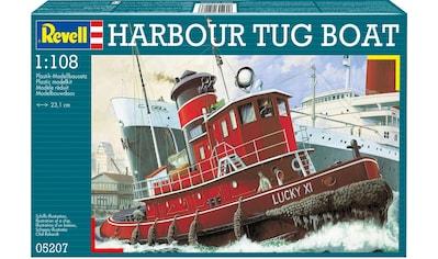 Revell® Modellbausatz »Model Set Harbour Tug Boat«, (Set), 1:108, Made in Europe kaufen