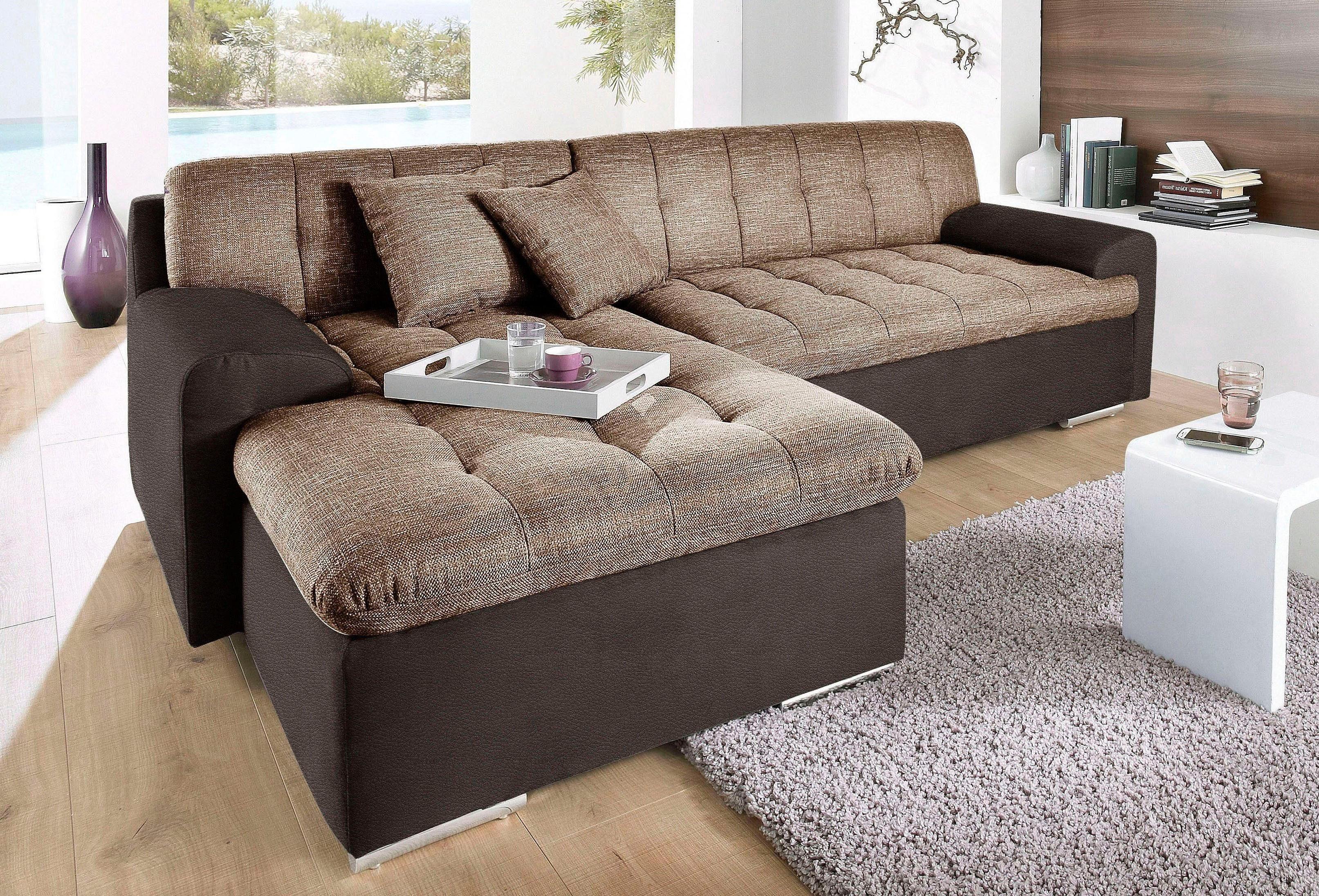 trendmanufaktur polsterecke wahlweise mit bettfunktion moebel suchmaschine. Black Bedroom Furniture Sets. Home Design Ideas