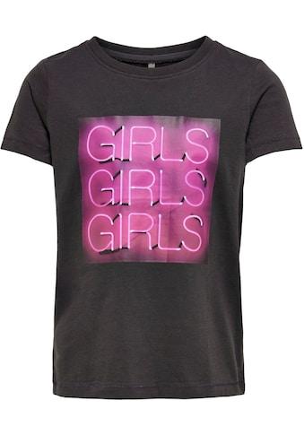 KIDS ONLY T-Shirt »KONCHLOE«, mit tollem Fotoprint kaufen
