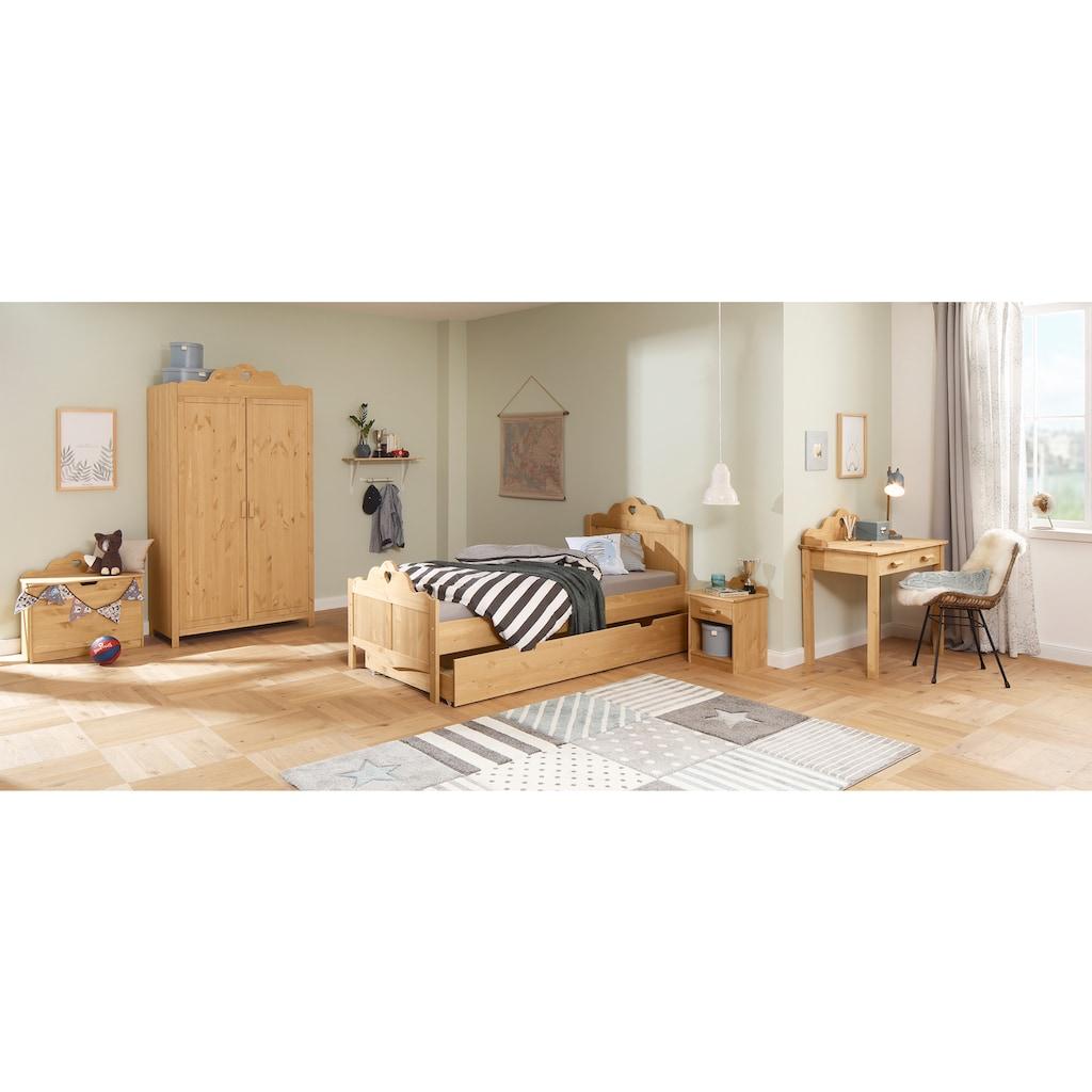 Home affaire Bettschubkasten »Isadore«, Schubladeninnenfach: 195,5/92/10,5 cm, auf Kunststoff-rollen
