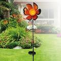 näve LED Gartenleuchte »Blume«, 1 St., Warmweiß