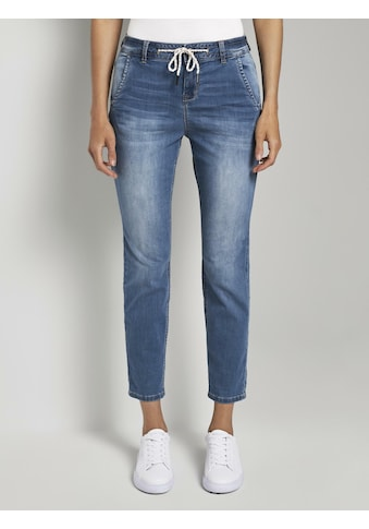 TOM TAILOR Regular - fit - Jeans »Tapered Relaxed Hose mit Tunnelzug« kaufen