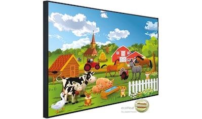 Papermoon Infrarotwandheizung »Bauernhof, Bauernhof«, sehr angenehme Strahlungswärme kaufen
