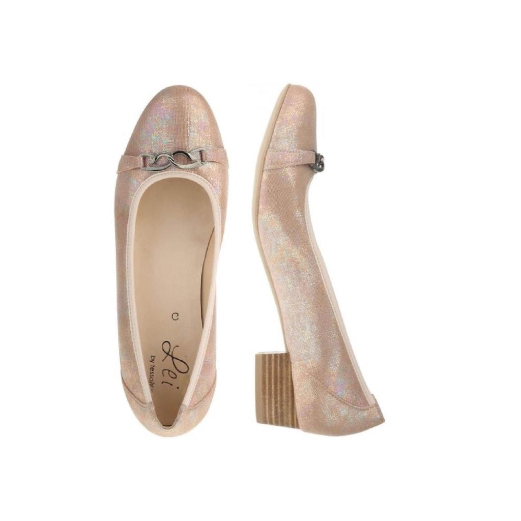 Lei by tessamino Ballerina »Emilia«, mit Schmuckapplikation