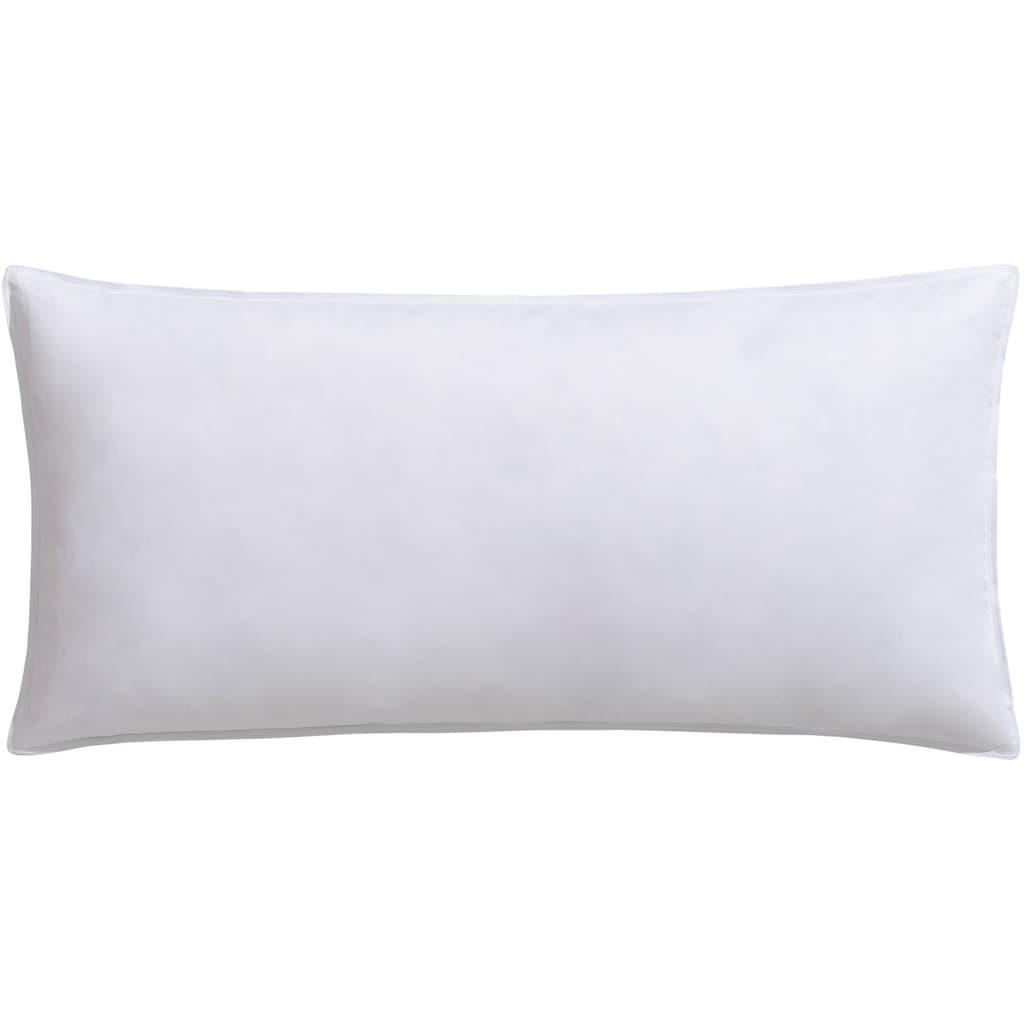 RIBECO Federkopfkissen »Kissenparade extra fest«, Füllung: 70%, 85% oder 100% Federn, Bezug: Baumwolle, (1 St.), Mit über 900 positiven Kundenbewertungen!