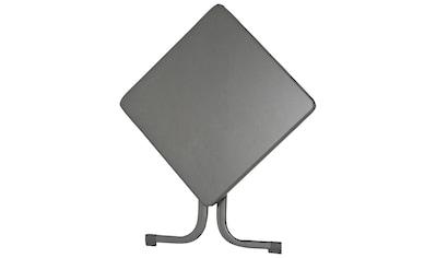 SIEGER Gartentisch Stahl, 70 x 70 cm kaufen