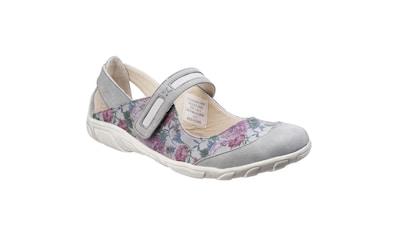 Fleet & Foster Slip - On Sneaker »Damen Mary - Jane - Schuhe mit Blumenmuster« kaufen