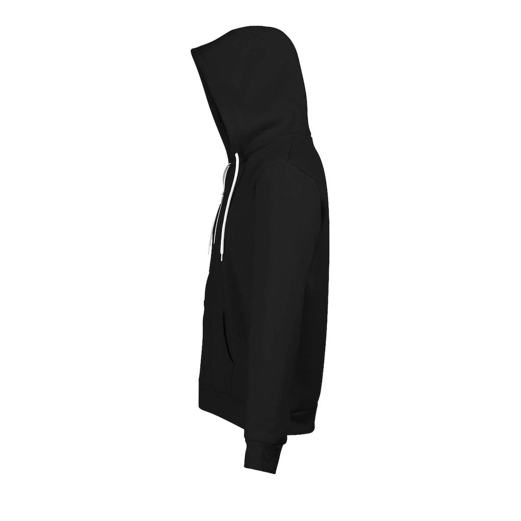 SOLS Kapuzennickijacke »Silver Unisex Kapuzenjacke / Kapuzen-Sweatshirt mit Reißverschluss«
