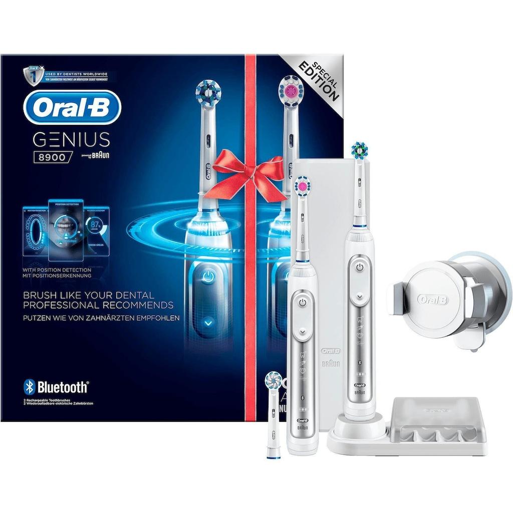 Oral B Elektrische Zahnbürste »Genius 8900«, 3 St. Aufsteckbürsten