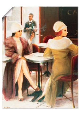 Artland Wandbild »Cafe I« kaufen