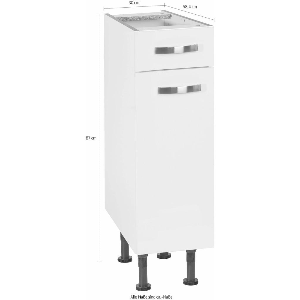 OPTIFIT Unterschrank »Cara«, Breite 30 cm, mit Vollauszug und Soft-Close-Funktion