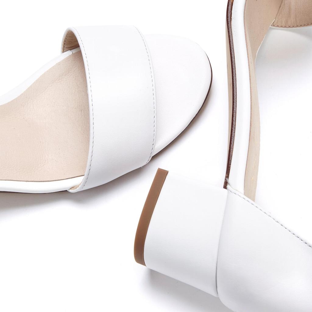 LASCANA Sandalette, aus Leder