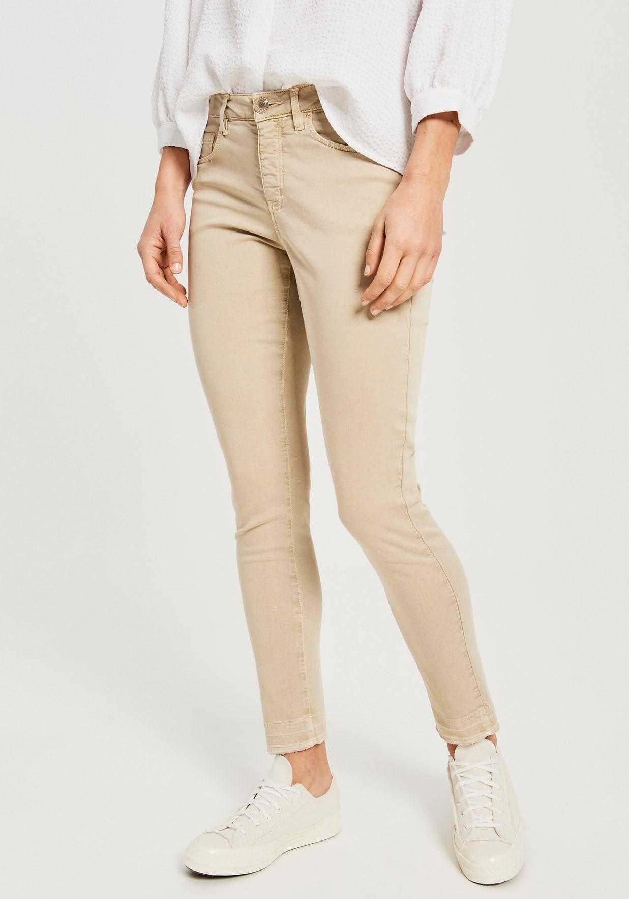 opus -  Skinny-fit-Jeans Elma shadow, in schöner Washed-Optik