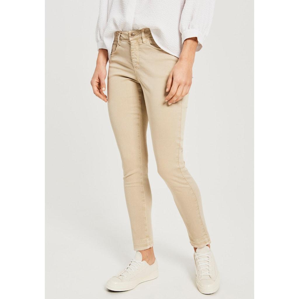 OPUS Skinny-fit-Jeans »Elma shadow«, in schöner Washed-Optik