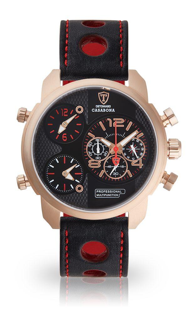 Detomaso Multifunktionsuhr CASABONA REDGOLD | Uhren > Multifunktionsuhren | Goldfarben | Ab | Detomaso