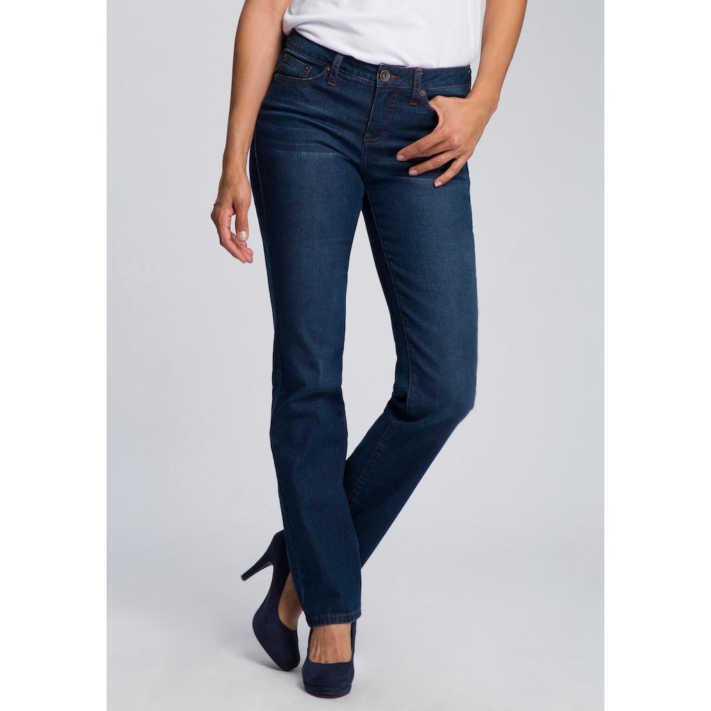 H.I.S Straight-Jeans »Regular-Waist«, Nachhaltige, wassersparende Produktion durch OZON WASH
