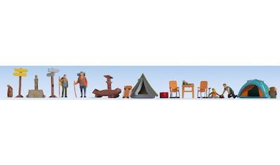 NOCH Modelleisenbahn-Figur »Camping«, für Spurweite H0; Made in Germany kaufen