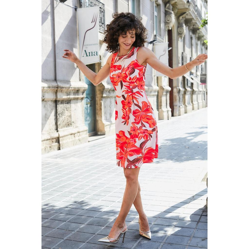 Aniston SELECTED Sommerkleid, im femininen Allover-Print