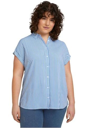 TOM TAILOR MY TRUE ME Kurzarmbluse, im sommerlichen Streifen Look kaufen
