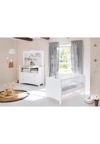 Pinolino® Babymöbel-Set »Florentina«, (Spar-Set, 2 St.), extrabreit mit Regalaufsatz;... kaufen