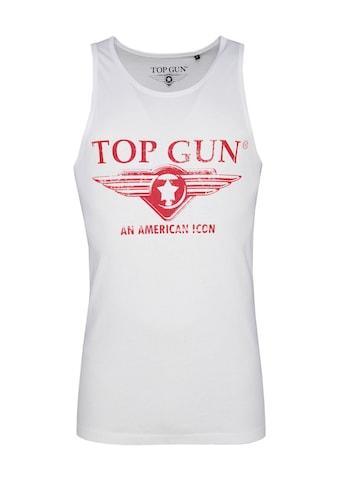 TOP GUN Muscleshirt »Pray«, sportlicher Schnitt kaufen
