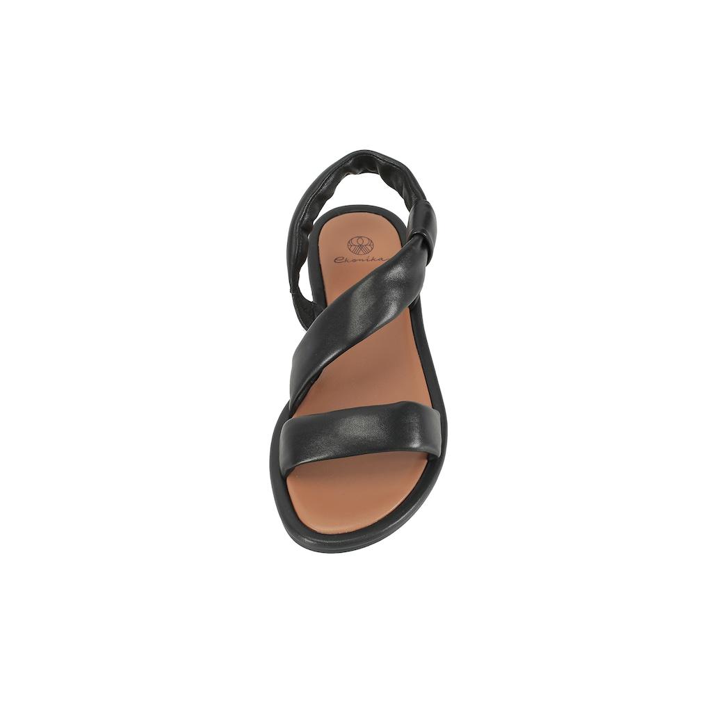 ekonika Sandale, mit breiten Riemen