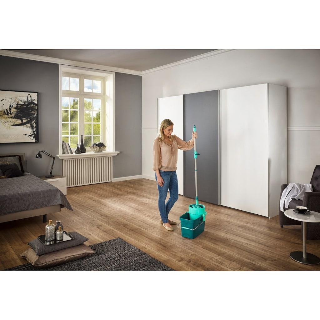 Leifheit Bodenwischer-Set »CLEAN TWIST M inkl Rollwagen«