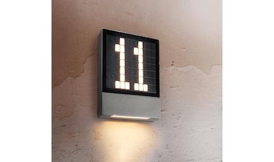 HEITRONIC LED Wandleuchte »Pavia«, LED-Modul, 1 St., Warmweiß, Hausnummer selbst... kaufen