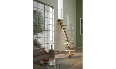 Dolle Systemtreppe »Berlin«, Birke, Metallgeländer und -handlauf kaufen