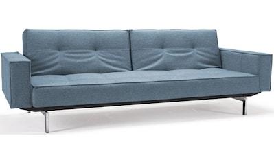 INNOVATION LIVING ™ Sofa »Splitback«, mit Armlehne und chromglänzenden Beinen, in... kaufen