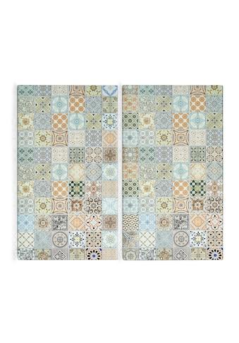 Zeller Present Schneide- und Abdeckplatte »Mosaik«, (Set, 2 tlg.) kaufen