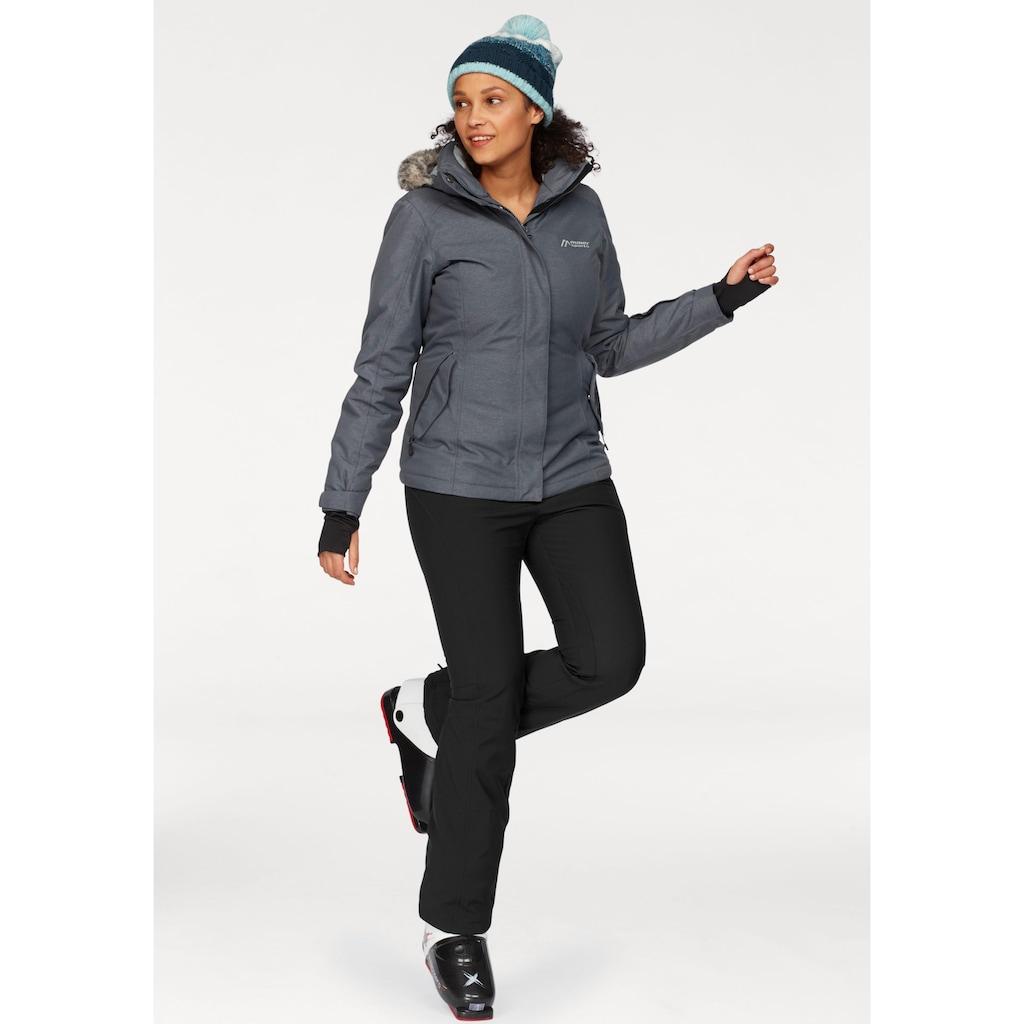 Maier Sports Skihose, elastisch und atmungsaktiv