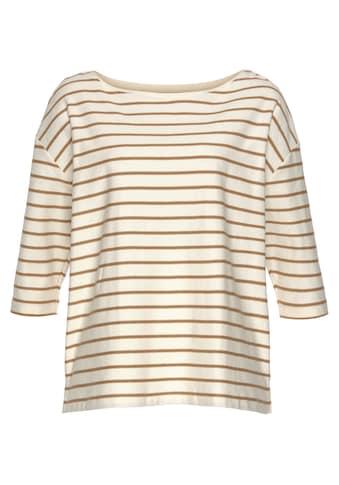 Esprit Kurzarmshirt, in zweifarbigem Streifenmuster kaufen
